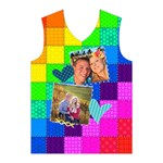Rainbow Stitch - Men s Basketball Tank Top