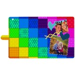 Rainbow Stitch - Apple iPad 3/4 Woven Pattern Leather Folio Case