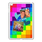 Rainbow Stitch - Apple iPad Mini Case (White)