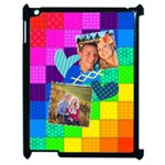 Rainbow Stitch - Apple iPad 2 Case (Black)