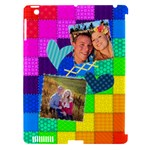 Rainbow Stitch - Apple iPad 3/4 Hardshell Case (Compatible with Smart Cover)