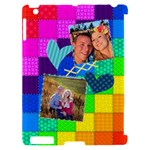 Rainbow Stitch - Apple iPad 2 Hardshell Case (Compatible with Smart Cover)