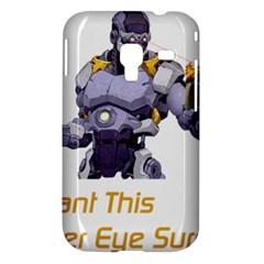 Lasereyesfinal5 Samsung Galaxy Ace Plus S7500 Hardshell Case by buynicestuff