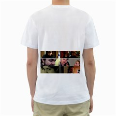 Sloop By Casey Soares   Men s T Shirt (white) (two Sided)   Wkqtcs3ajkxh   Www Artscow Com Back