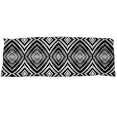 Black White Diamond Pattern Body Pillow Cases Dakimakura (two Sides)  by Costasonlineshop