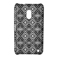 Black White Diamond Pattern Nokia Lumia 620