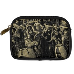 Group Of Candombe Drummers At Carnival Parade Of Uruguay Digital Camera Cases by dflcprints
