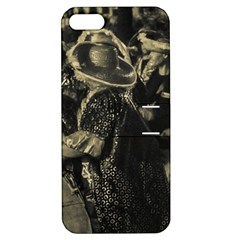 Group Of Candombe Drummers At Carnival Parade Of Uruguay Apple Iphone 5 Hardshell Case With Stand by dflcprints