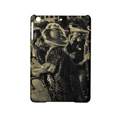 Group Of Candombe Drummers At Carnival Parade Of Uruguay Ipad Mini 2 Hardshell Cases by dflcprints