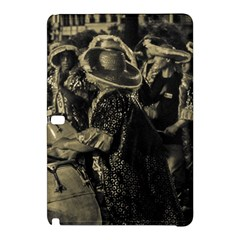 Group Of Candombe Drummers At Carnival Parade Of Uruguay Samsung Galaxy Tab Pro 12 2 Hardshell Case by dflcprints