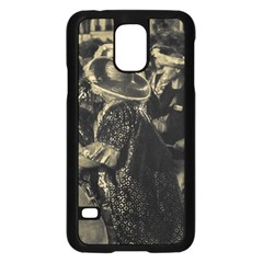 Group Of Candombe Drummers At Carnival Parade Of Uruguay Samsung Galaxy S5 Case (black) by dflcprints