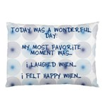 wonderful_day_blue_3questions - Pillow Case