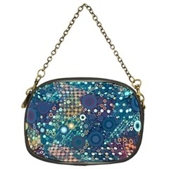 Blue Bubbles Chain Purses (one Side)  by KirstenStar