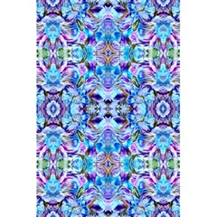 Elegant Turquoise Blue Flower Pattern 5.5  x 8.5  Notebooks by Costasonlineshop
