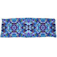 Elegant Turquoise Blue Flower Pattern Body Pillow Cases (dakimakura)