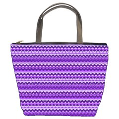 Purple Tribal Pattern Bucket Bags by KirstenStar