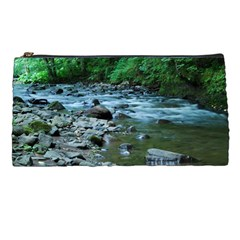 Rocky Stream Pencil Cases by trendistuff