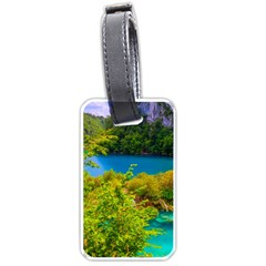 Plitvice, Croatia Luggage Tags (one Side)  by trendistuff