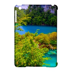 Plitvice, Croatia Apple Ipad Mini Hardshell Case (compatible With Smart Cover) by trendistuff