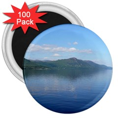 Loch Ness 3  Magnets (100 Pack) by trendistuff