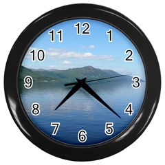 Loch Ness Wall Clocks (black) by trendistuff