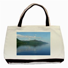 Loch Ness Basic Tote Bag (two Sides)  by trendistuff