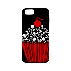 Skull Cupcake Apple Iphone 5 Classic Hardshell Case (pc+silicone) by waywardmuse