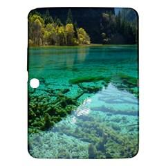 Jiuzhaigou Valley 2 Samsung Galaxy Tab 3 (10 1 ) P5200 Hardshell Case  by trendistuff