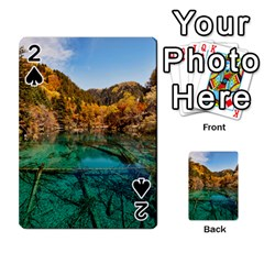 Jiuzhaigou Valley 1 Playing Cards 54 Designs