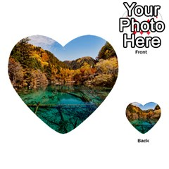 Jiuzhaigou Valley 1 Multi Purpose Cards (heart)