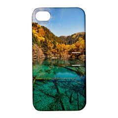 Jiuzhaigou Valley 1 Apple Iphone 4/4s Hardshell Case With Stand by trendistuff