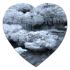 Ice And Water Jigsaw Puzzle (heart) by trendistuff