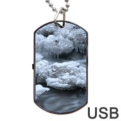 ICE AND WATER Dog Tag USB Flash (One Side) by trendistuff