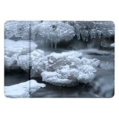 ICE AND WATER Samsung Galaxy Tab 8.9  P7300 Flip Case by trendistuff