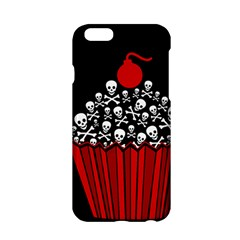 Skull Cupcake Apple Iphone 6/6s Hardshell Case by waywardmuse