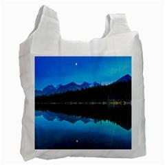 Herbert Lake Recycle Bag (two Side)  by trendistuff