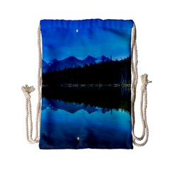 Herbert Lake Drawstring Bag (small) by trendistuff