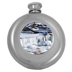 FROZEN CREEK Round Hip Flask (5 oz) by trendistuff