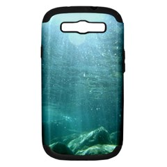 Crater Lake National Park Samsung Galaxy S Iii Hardshell Case (pc+silicone) by trendistuff