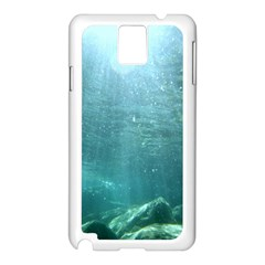 Crater Lake National Park Samsung Galaxy Note 3 N9005 Case (white) by trendistuff