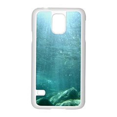 Crater Lake National Park Samsung Galaxy S5 Case (white) by trendistuff