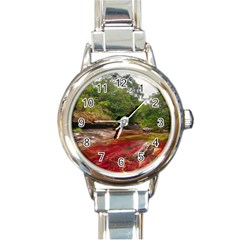 Cano Cristales 1 Round Italian Charm Watches