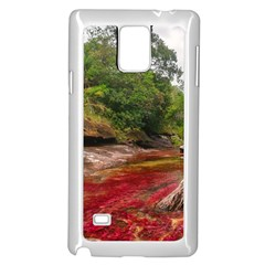 CANO CRISTALES 1 Samsung Galaxy Note 4 Case (White) by trendistuff