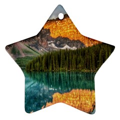 Banff National Park 4 Ornament (star)  by trendistuff