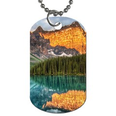 Banff National Park 4 Dog Tag (two Sides) by trendistuff