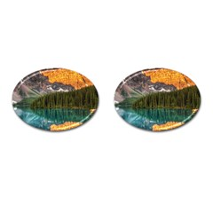 Banff National Park 4 Cufflinks (oval) by trendistuff