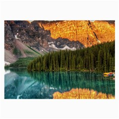 Banff National Park 4 Large Glasses Cloth (2 Side) by trendistuff