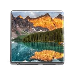Banff National Park 4 Memory Card Reader (square) by trendistuff