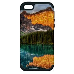 Banff National Park 4 Apple Iphone 5 Hardshell Case (pc+silicone) by trendistuff