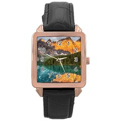 Banff National Park 4 Rose Gold Watches by trendistuff